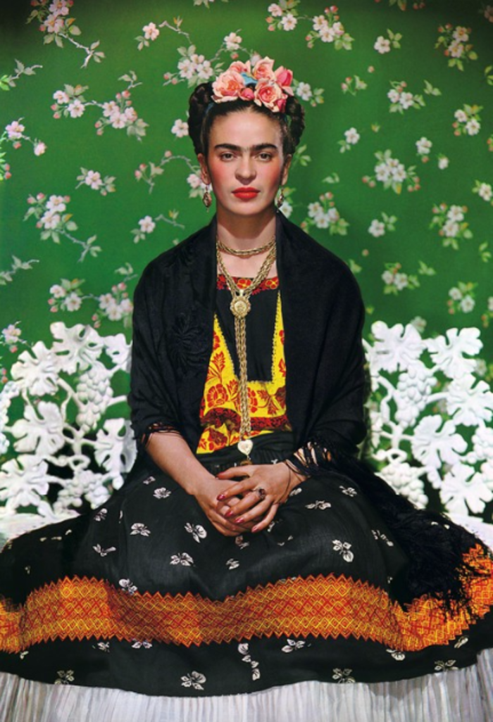 Nickolas Muray, 'Frida Kahlo on White Bench, New York (2nd Edition),' 1939, Bentley Gallery
