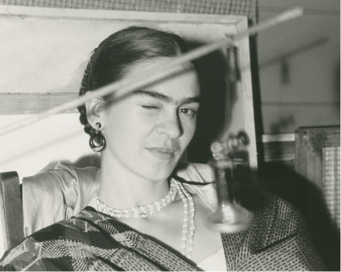 Lucienne Bloch, 'Frida Winking,' 1933, Bentley Gallery
