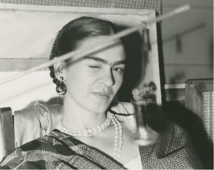 Lucienne Bloch, 'Frida Winking,' 1933, Bentley Gallery