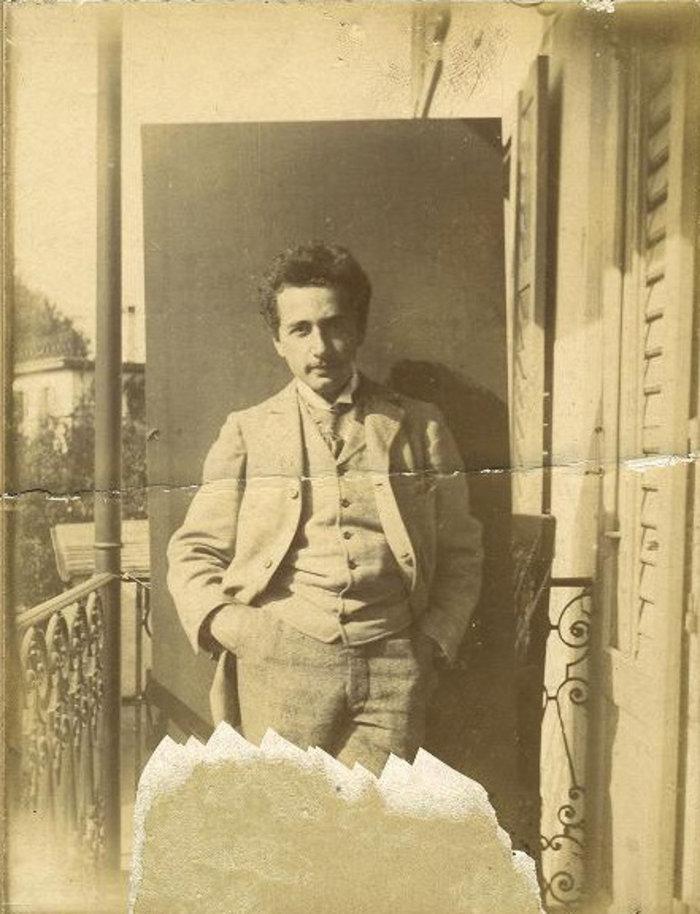 Ο Αινστάιν φοιτητής στη Ζυρίχη