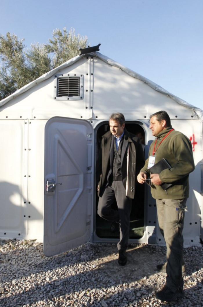 Μητσοτάκης: Οι κακοί χειρισμοί της κυβέρνησης επιδείνωσαν το προσφυγικό - εικόνα 5