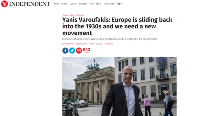 H επιστροφή του Γιάνη στα πρωτοσέλιδα των διεθνών ΜΜΕ
