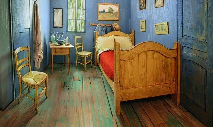 Εφτιαξαν αληθινό δωμάτιο - ρέπλικα διάσημου πίνακα του Βαν Γκογκ!