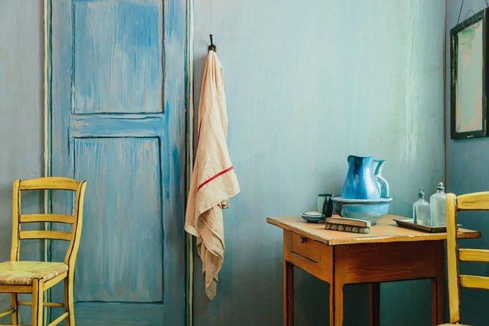 Εφτιαξαν αληθινό δωμάτιο - ρέπλικα διάσημου πίνακα του Βαν Γκογκ! - εικόνα 3