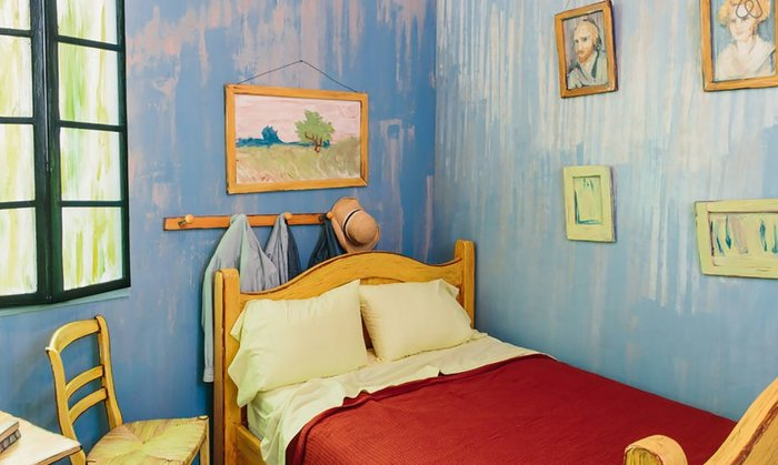 Εφτιαξαν αληθινό δωμάτιο - ρέπλικα διάσημου πίνακα του Βαν Γκογκ! - εικόνα 4