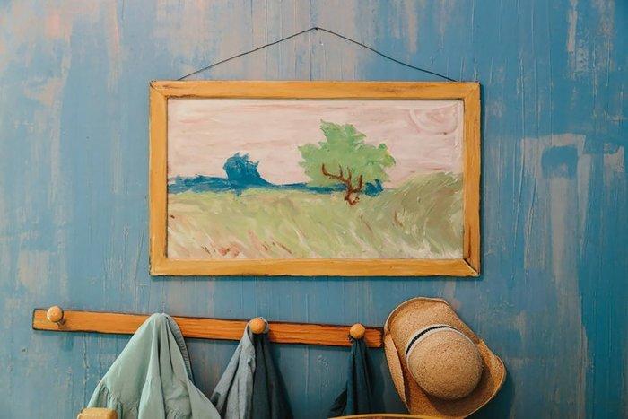 Εφτιαξαν αληθινό δωμάτιο - ρέπλικα διάσημου πίνακα του Βαν Γκογκ! - εικόνα 6