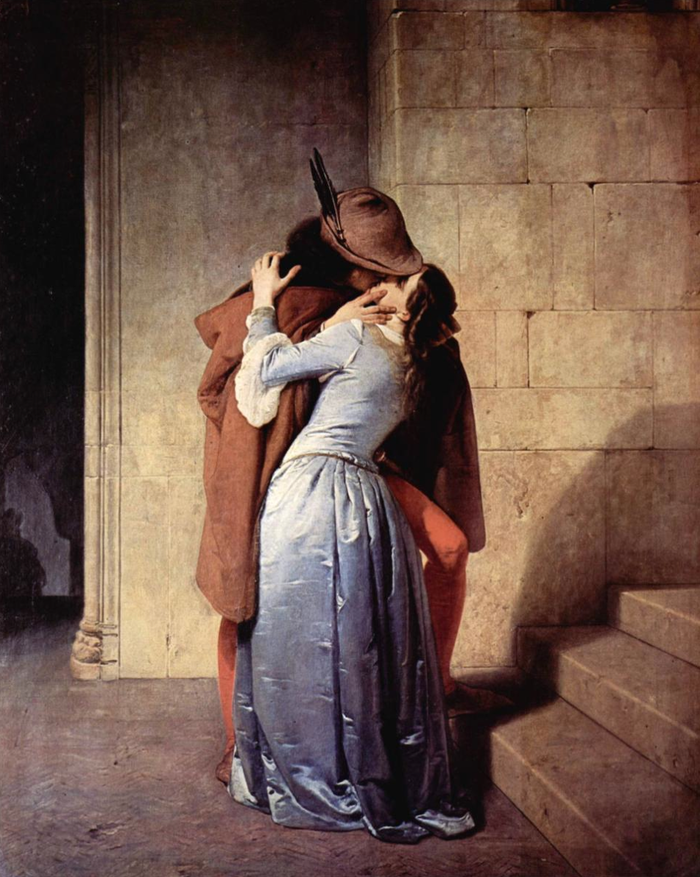 Francesco Hayez - The Kiss (1859)