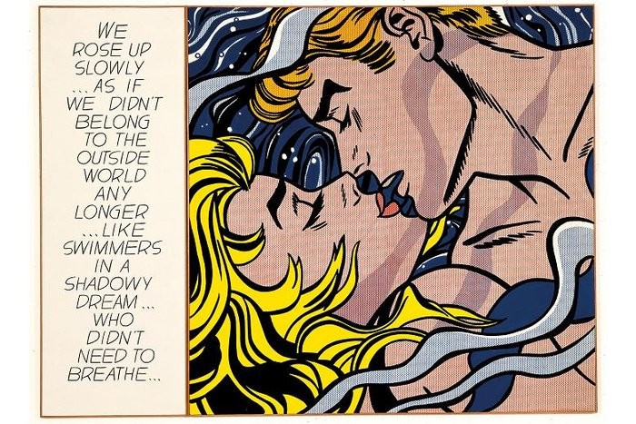 We rose up slowly - Roy Lichtenstein