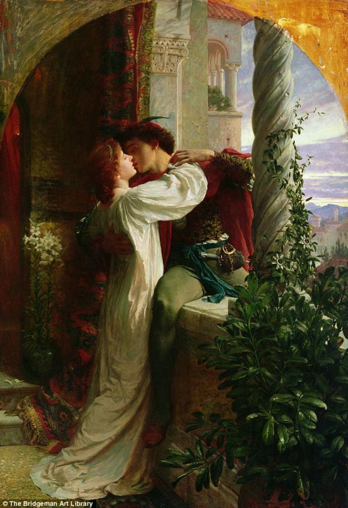 Frank Bernard Dicksee, Romeo and Juliet, 1884