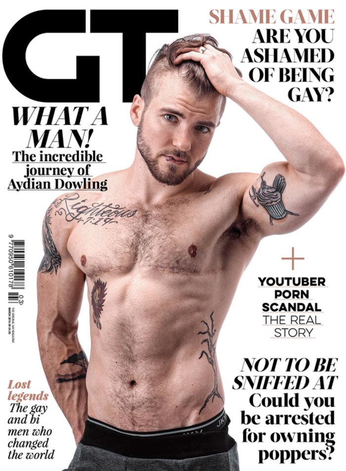Ο πρώτος τρανσέξουαλ άνδρας έγινε εξώφυλλο στο Gay Times