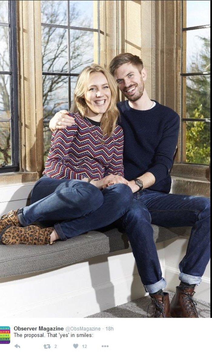 Πρόταση γάμου σε... εξώφυλλο περιοδικού, ανήμερα του Αγίου Βαλεντίνου - εικόνα 2