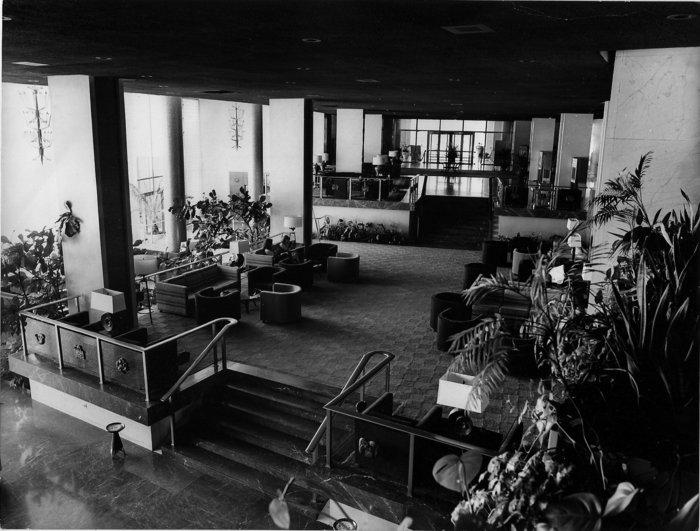 Εσωτερικό του ξενοδοχείου - φωτογραφία δεκαετίας '70