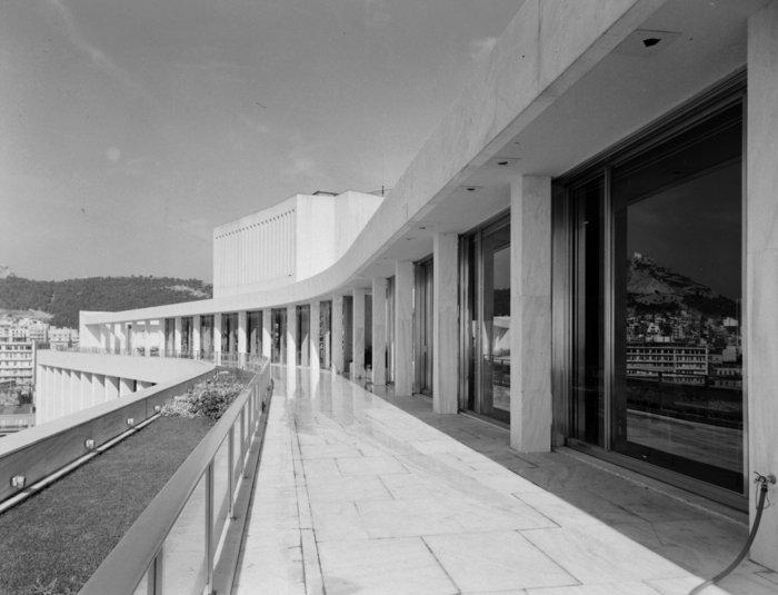 Εξωτερική άποψη του Galaxy bar τη δεκαετία του '70