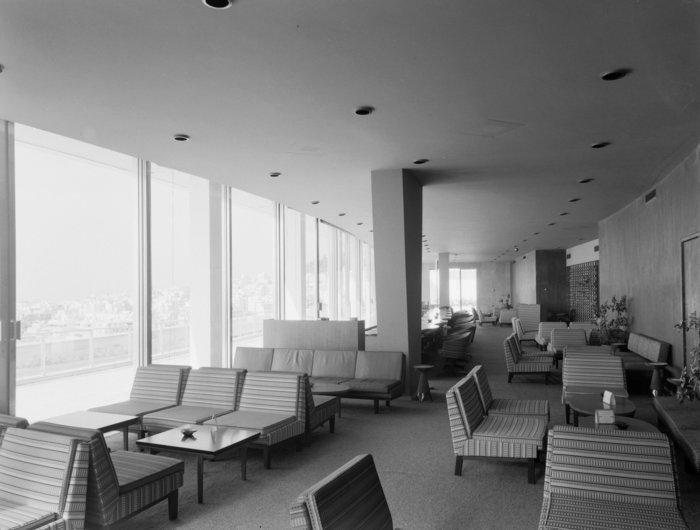 Εσωτερική άποψη του Galaxy bar τη δεκαετία του '70
