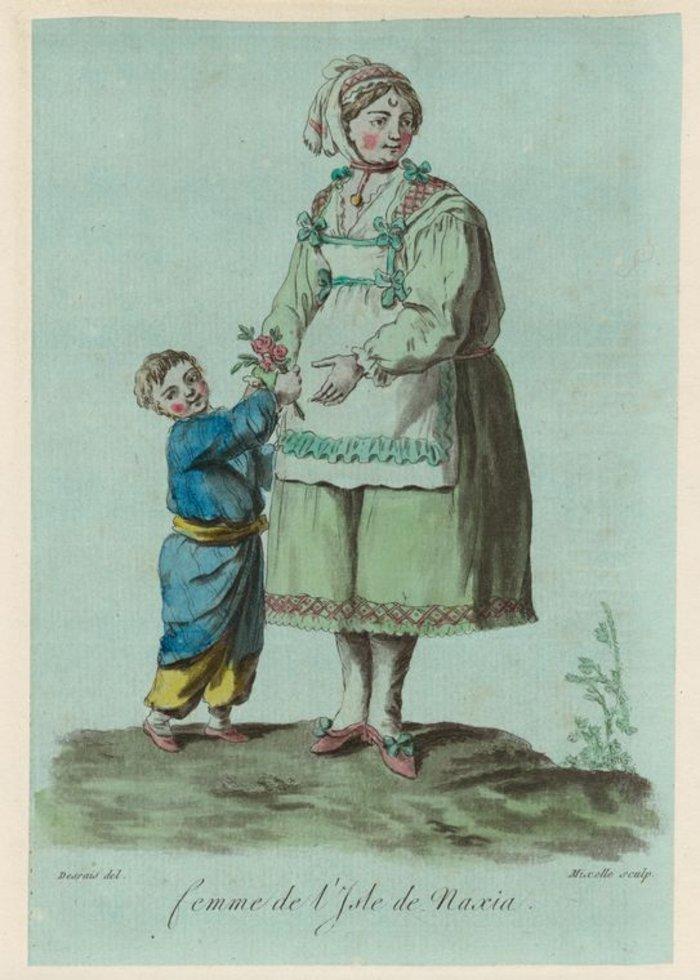 Παραδοσιακή στολή της Νάξου