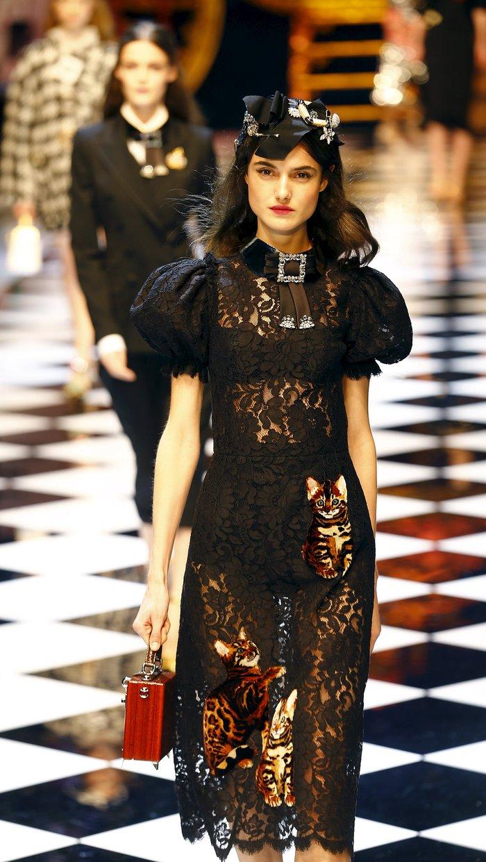 Εικόνες από τo εκπληκτικό σόου των Dolce & Gabbana στο Μιλάνο - εικόνα 5