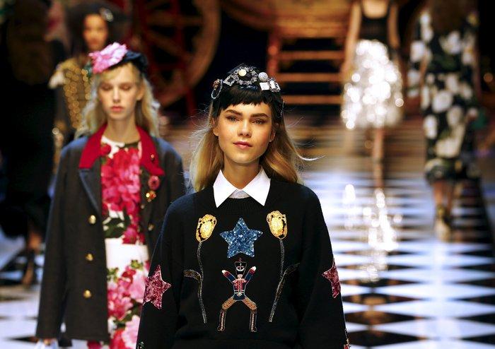 Εικόνες από τo εκπληκτικό σόου των Dolce & Gabbana στο Μιλάνο - εικόνα 11