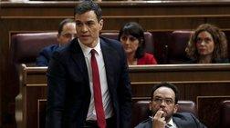 Καταψηφίστηκε για δευτερη φορά ο Σαντσεθ στην Ισπανική βουλή