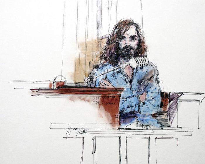 Τσαρλς Μάνσον, 1970 στη δίκη του