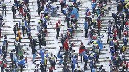 13.000 σκιέρ στον μαραθώνιο σκι της Ελβετίας