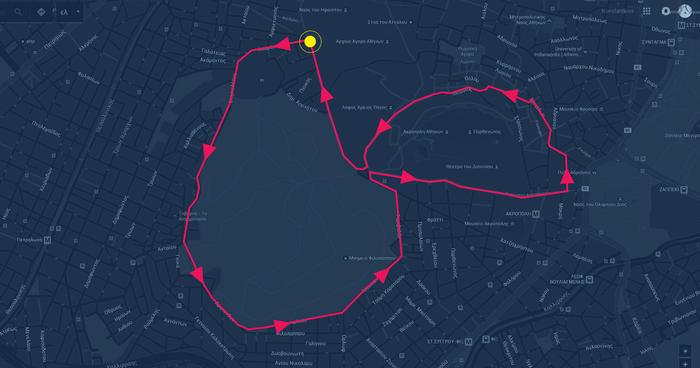 Οι διαδρομές, 5 & 10 χλμ., του TheTOC Merrython 2016