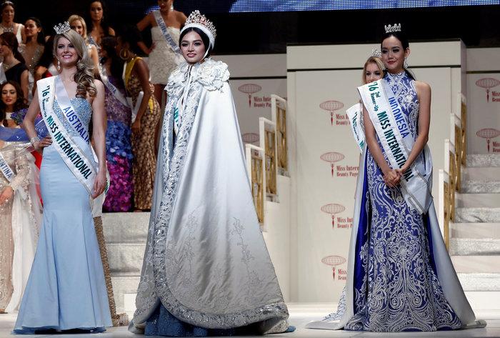 Μια νηπιαγωγός από τις Φιλιππίνες, η νέα Miss International