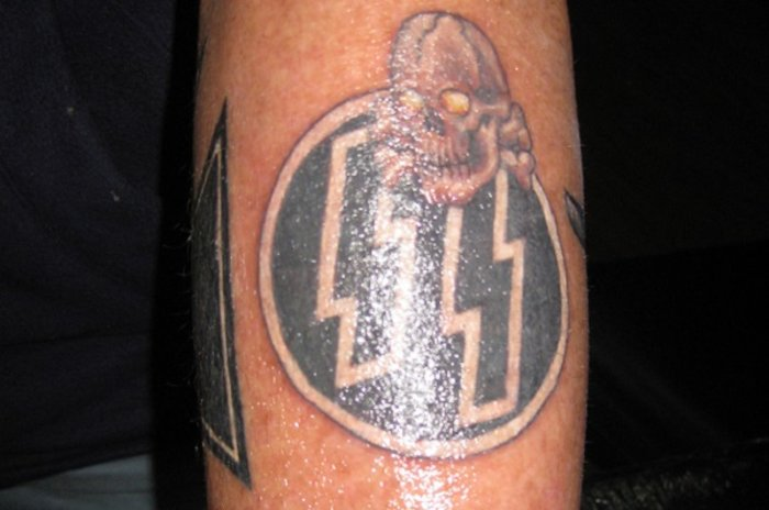 Ποινή κάθειρξης δύο χρόνων σε 27χρονο για ναζιστικά τατουάζ