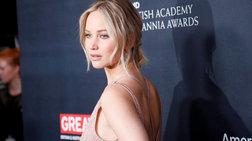 Η πανέμορφη Τζένιφερ Λόρενς πήγε στα BAFTA ντυμένη... Ιουλιέτα
