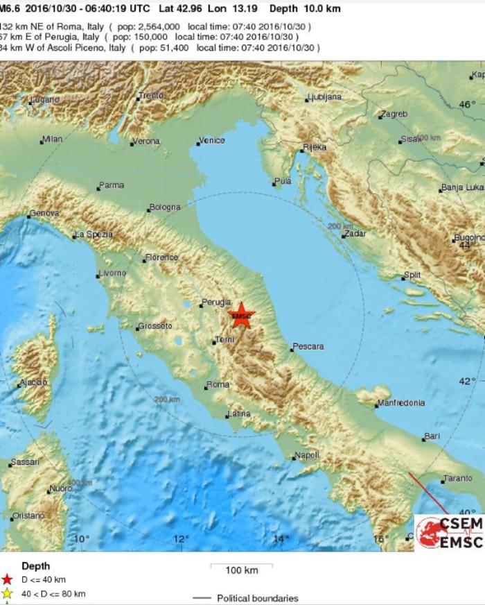 Δεκάδες κτίρια κατέρρευσαν από τα 6,6 Ρίχτερ στην Ιταλία [ΕΙΚΟΝΕΣ-ΒΙΝΤΕΟ] - εικόνα 3