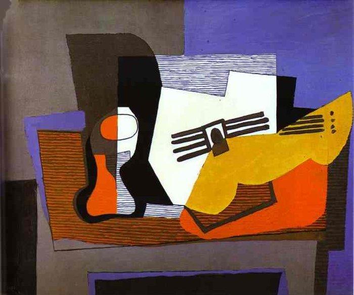 Κιθάρα, έργο της κυβιστικής περιόδου