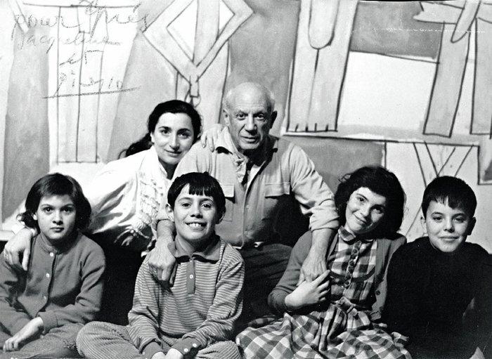 Πικάσο, Ροκ και τα παιδιά του