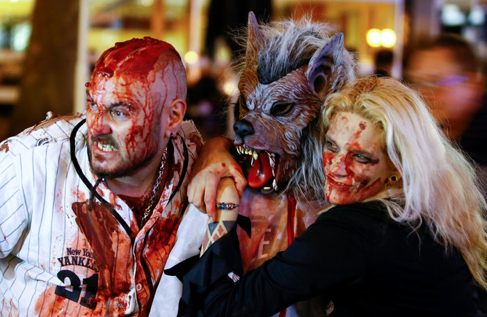 Halloween  α λα Γερμανικά: Τα ζόμπι βγήκαν παγανιά - εικόνα 3