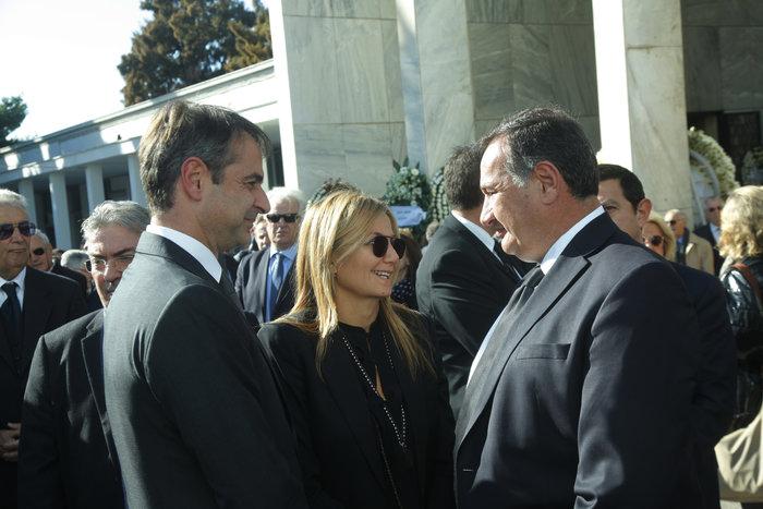 Ο Κυριάκος Μητσοτακης μαζί με τη σύζυγό του Μαρέβα