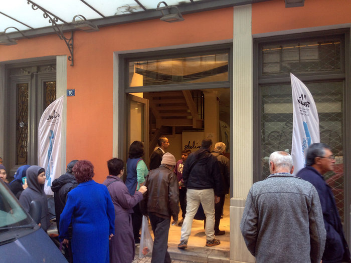 Ατέλειωτες ουρές για 4 δωρεάν γκοφρέτες στο κέντρο της Αθήνας - εικόνα 2