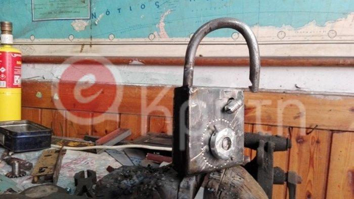 Κρητικός δίνει 5.000 ευρώ σε όποιον ανοίξει το λουκέτο του! - εικόνα 2