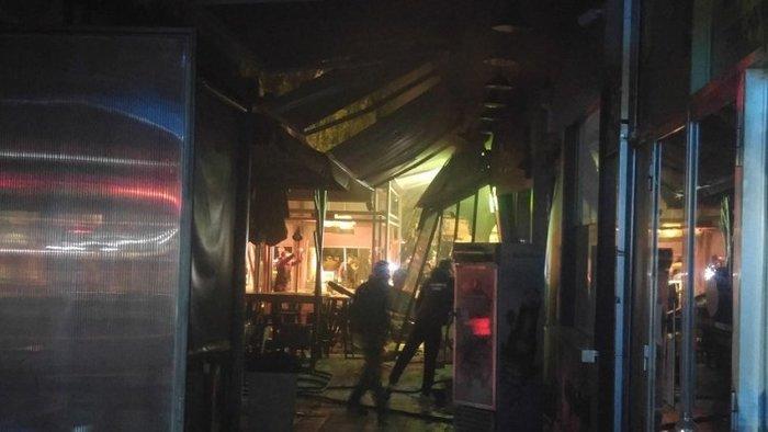 Εκρηξη και φωτιά σε εστιατόριο στα Χανιά, δύο τραυματίες