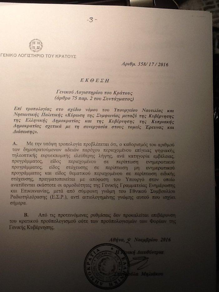 Kατατέθηκε η νέα τροπολογία του Νίκου Παππά για τις τηλεοπτικές άδειες