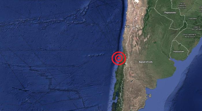 Σεισμός 6,3 Ρίχτερ κοντά στο Σαντιάγο της Χιλής