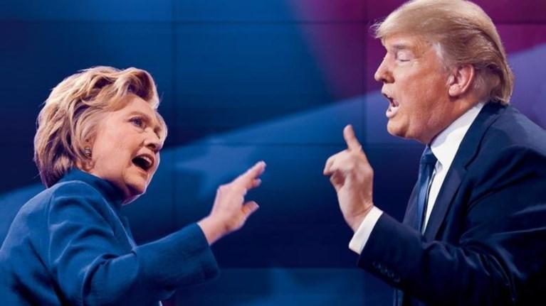 Στα όρια στατιστικού λάθους η διαφορά Χίλαρι-Τραμπ