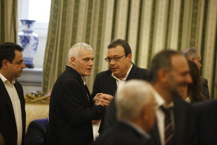 Η ορκωμοσία της νέας κυβέρνησης. Πηγαδάκια & δηλώσεις υπουργών - εικόνα 9
