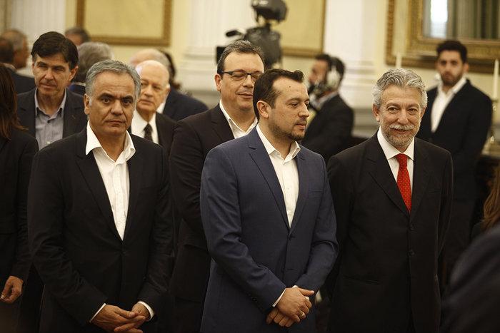 Η ορκωμοσία της νέας κυβέρνησης. Πηγαδάκια & δηλώσεις υπουργών - εικόνα 7