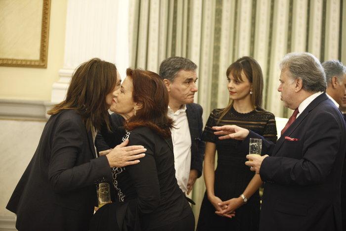 Oι αγκαλιές & οι selfies στο Προεδρικό Mέγαρο - εικόνα 7