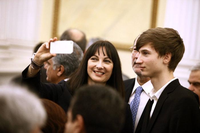 Oι αγκαλιές & οι selfies στο Προεδρικό Mέγαρο - εικόνα 10