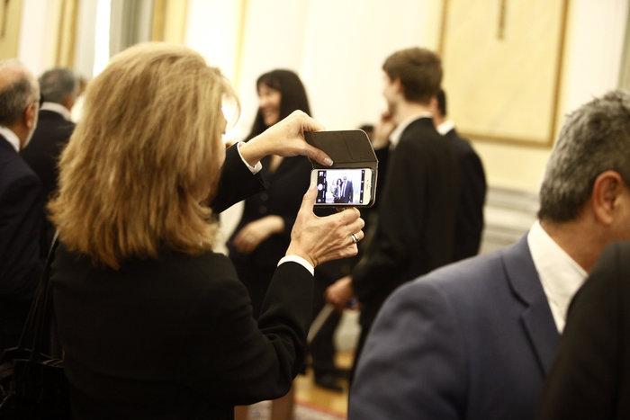 Oι αγκαλιές & οι selfies στο Προεδρικό Mέγαρο - εικόνα 12