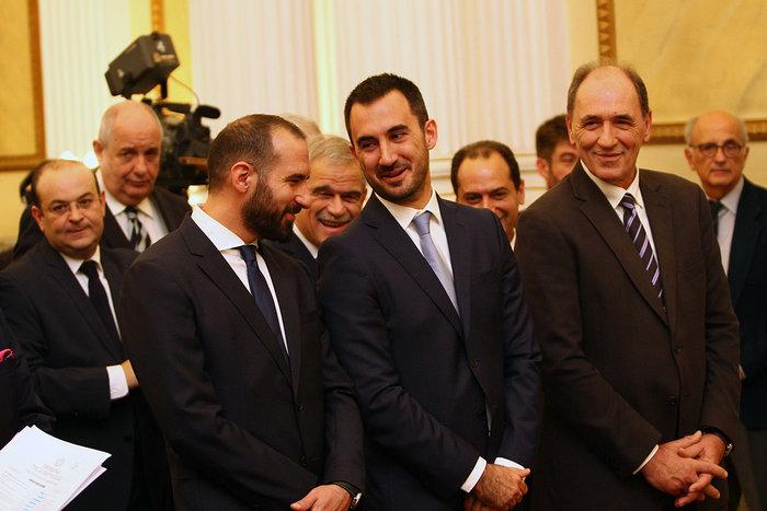 Oι αγκαλιές & οι selfies στο Προεδρικό Mέγαρο - εικόνα 16
