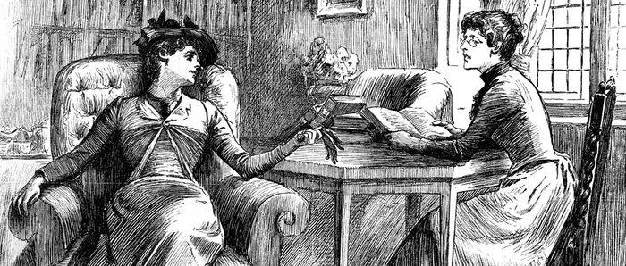 Συμβουλές για τις ανύπαντρες σε ένα βιβλίο του 19ου αιώνα