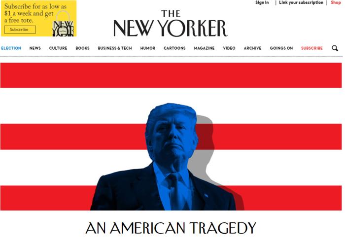 New York Daily News για νίκη Τραμπ και Λευκό Οίκο: «Το σπίτι του τρόμου» - εικόνα 2