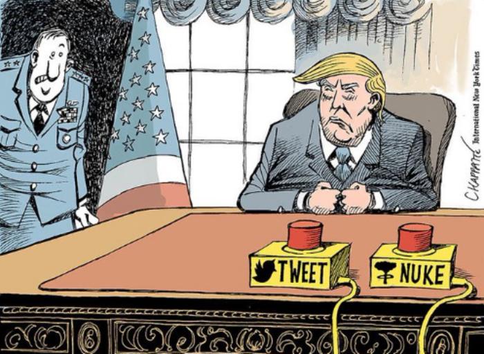 Η νίκη του Τραμπ σε 14 καυστικά σκίτσα από όλον τον κόσμο - εικόνα 2