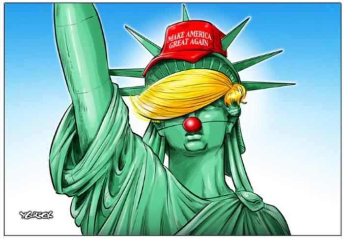 Η νίκη του Τραμπ σε 14 καυστικά σκίτσα από όλον τον κόσμο - εικόνα 4
