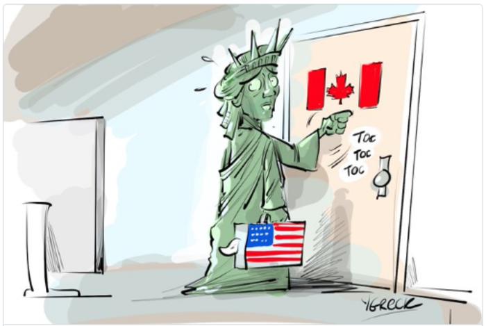 Η νίκη του Τραμπ σε 14 καυστικά σκίτσα από όλον τον κόσμο - εικόνα 5